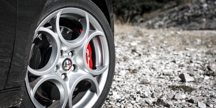 Könnte standfester sein: Brembo Bremsanlage an der Giulietta