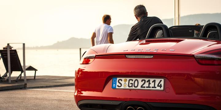 Mit Porsche am Gardasee - traumhaft!