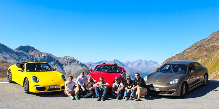 Ein Traum von einem Road-Trip Team!