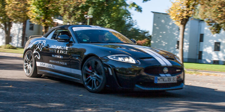 Jaguar Taste and Race Handlingkurs mit dem Jaguar XKR-S
