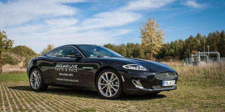 Ausfahrt in München mit dem Jaguar XK