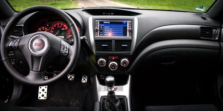Subaru WRX STi Cockpit