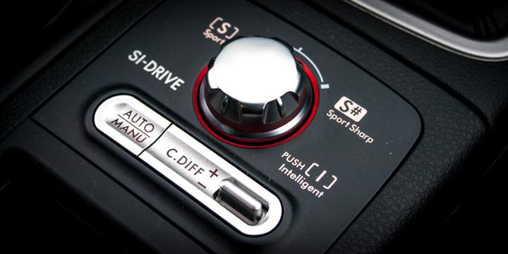Subaru WRX STi SI-Drive & DCCD