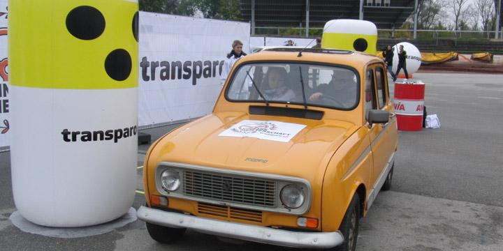 Transparo Einparkmeisterschaft