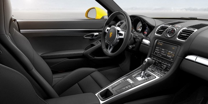 Porsche Cayman 981 Innenraum / Cockpit