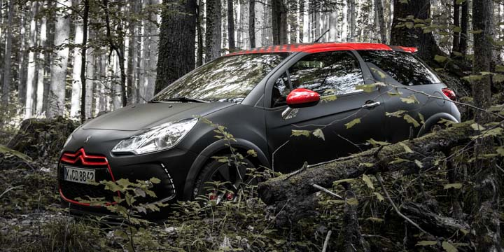 Citroën DS3 Racing S. Loeb Edition