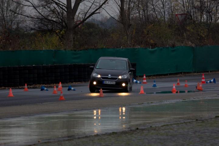 Škoda Citigo Fahrsicherheitstraining