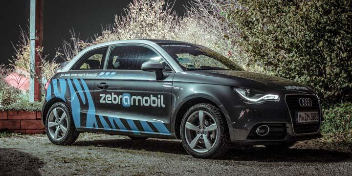 ZebraMobil Audi A1