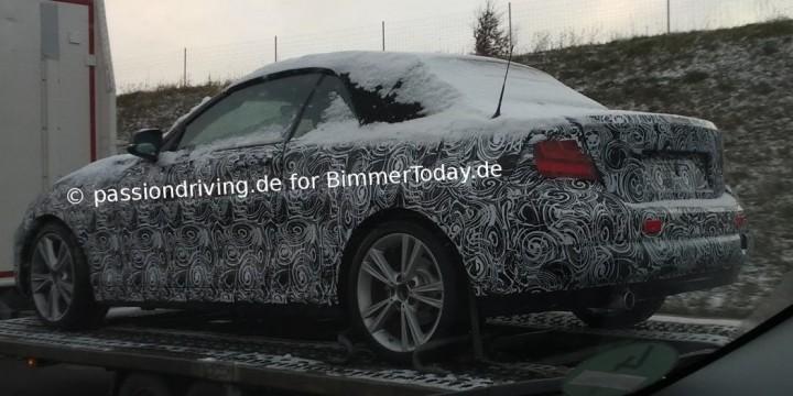 BMW 2er Cabrio F23 2014 Erlkönig Spyshots Convertible