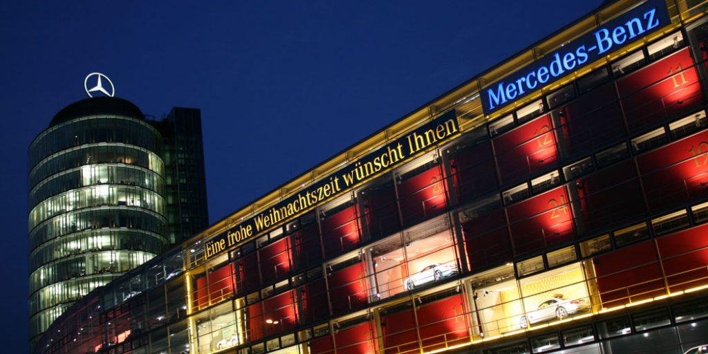 Mercedes-Benz München Adventskalender
