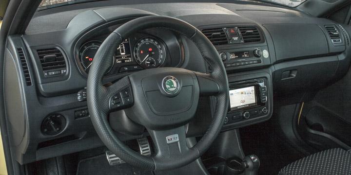 Škoda Fabia RS Cockpit