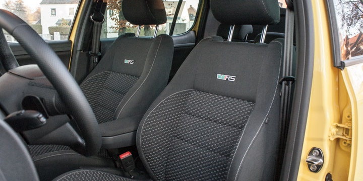 Škoda Fabia RS Sitze