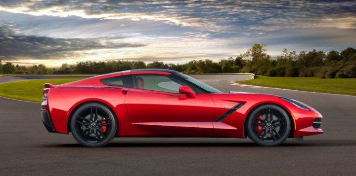 2014 Chevrolet Corvette C7 Sting Ray