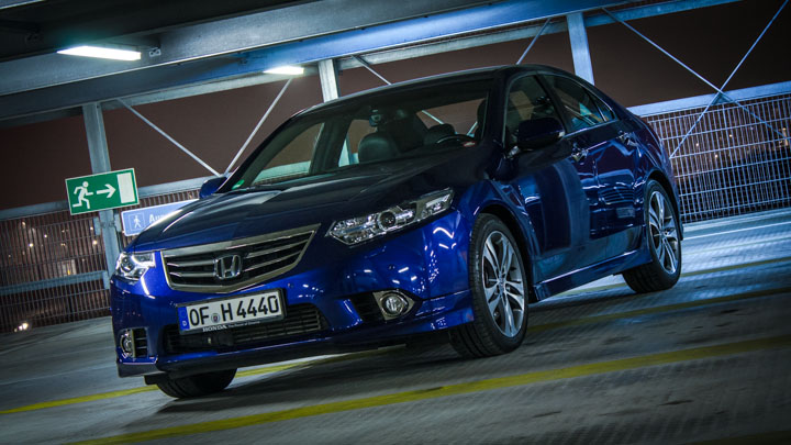 Honda Accord Type S Heckansicht