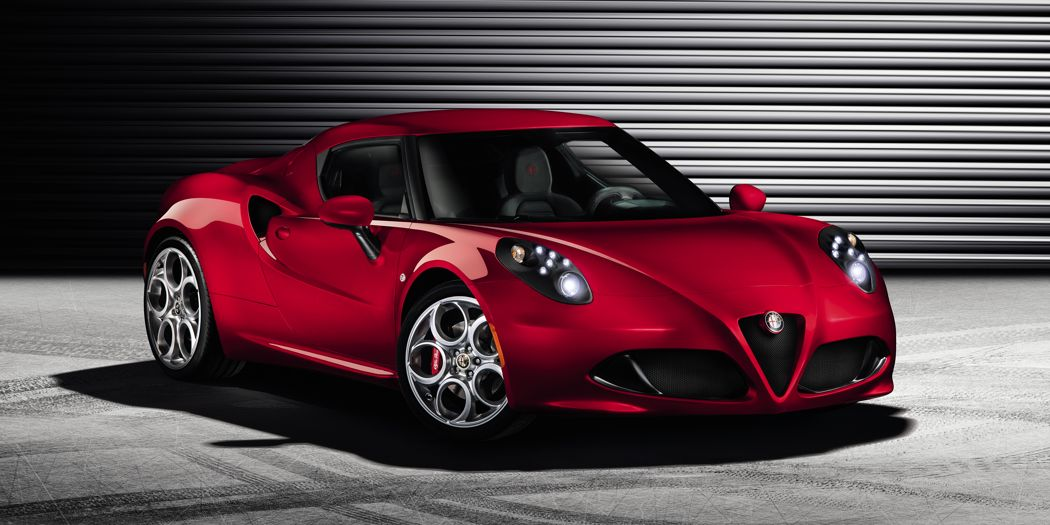 Alfa Romeo 4C Serienversion