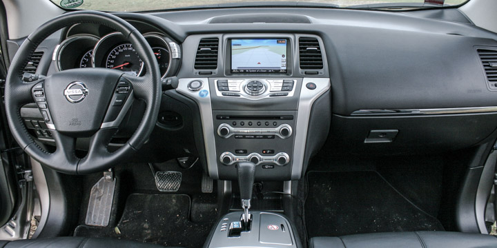 Nissan Murano Cockpit