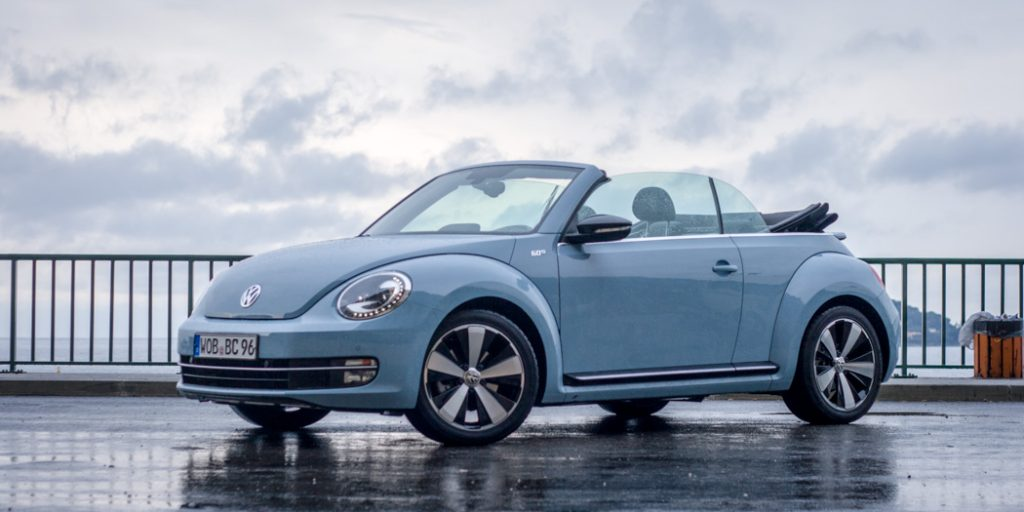 VW Beetle Cabriolet 60s Edition