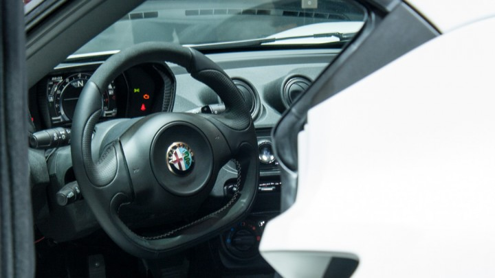 Alfa Romeo 4C in Genf Cockpit / Innenraum
