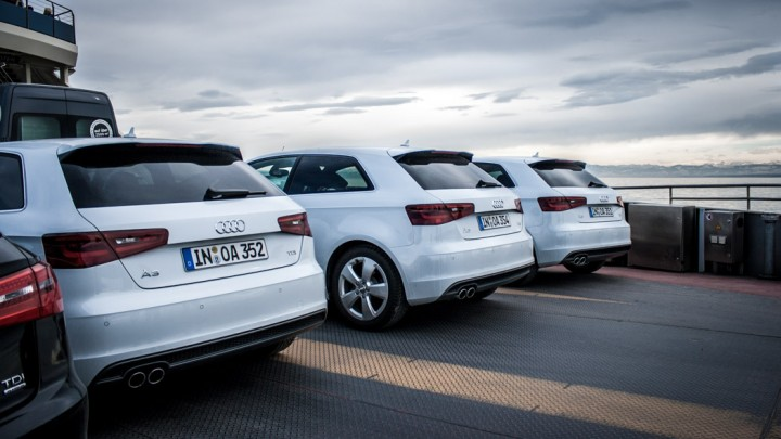 #AudiRT13 - Effizient: Fähre statt fahren