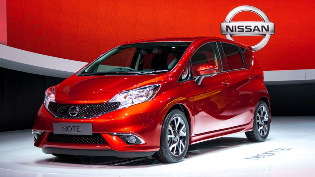 Neuer Nissan Note in Genf