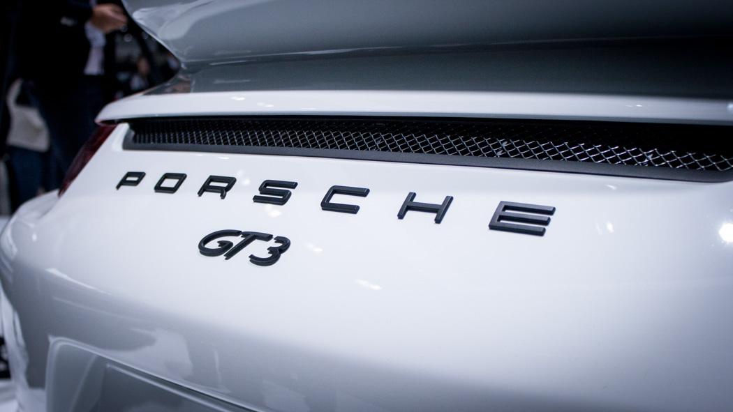 Porsche 911 GT3 991 Genf