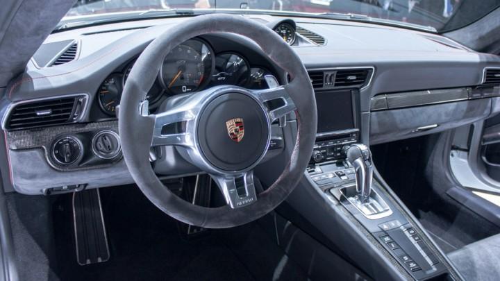 Porsche 911 GT3 991 Genf Cockpit / Innenraum