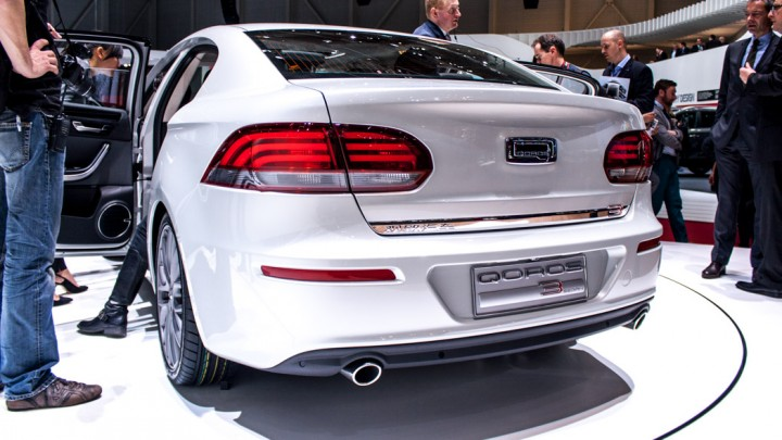 Qoros 3 Sedan, Genf 2013
