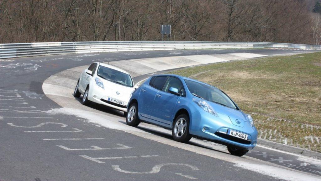 Nissan Leaf Nürburgring Nordschleife