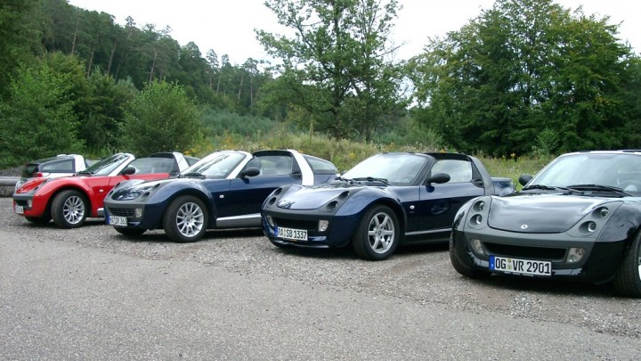 smart(e) roadster on Tour