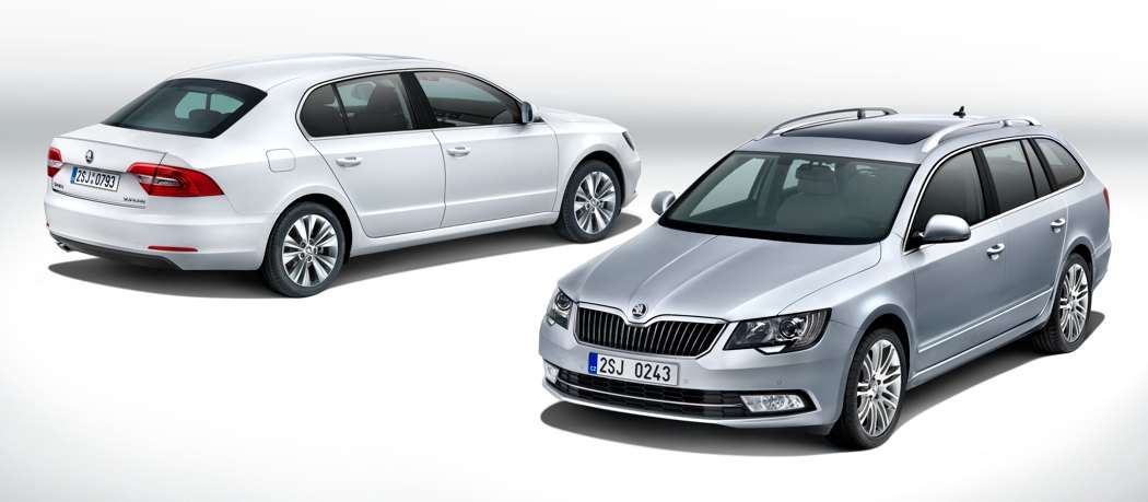 Škoda Superb Facelift 2013