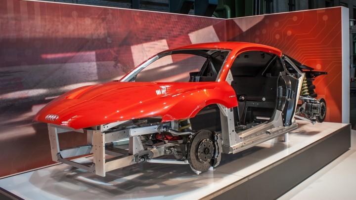 Audi R8 e-tron Spaceframe