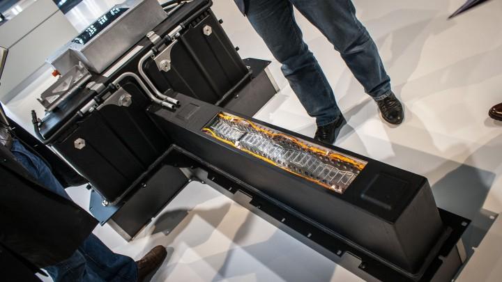 Audi R8 e-tron - Batterieeinheit