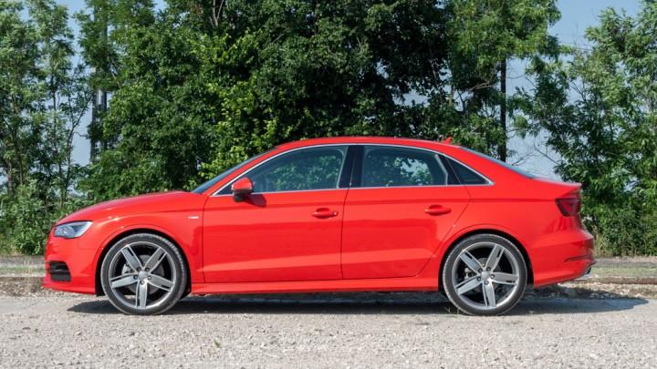 Audi A3 (8V) Limousine / Sedan s-line Misanrot