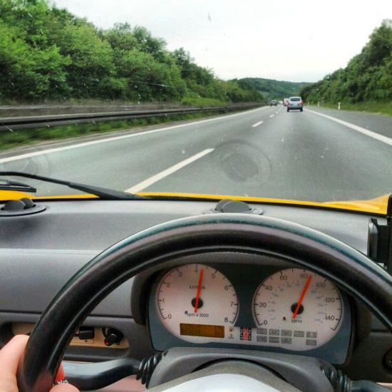 Lotus Elise - Anreise zur Nordschleife