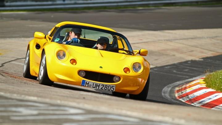 Lotus Elise S1 Nordschleife by Martin Stollenwerk