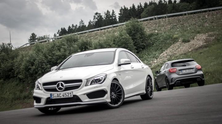 Mercedes-Benz CLA 45 AMG A 45 AMG