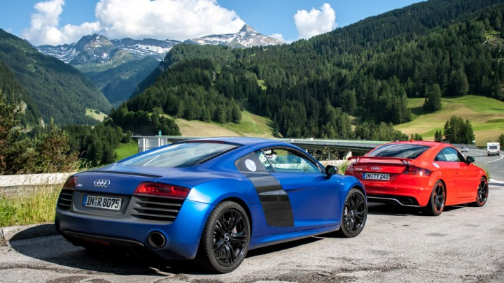 Audi Alpentrip #thepluses