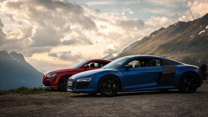 #thepluses Audi Alpentrip