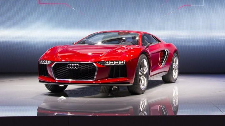 IAA 2013: Audi nanuk nur als Pressefoto - kommt mir nicht auf die Speicherkarte.