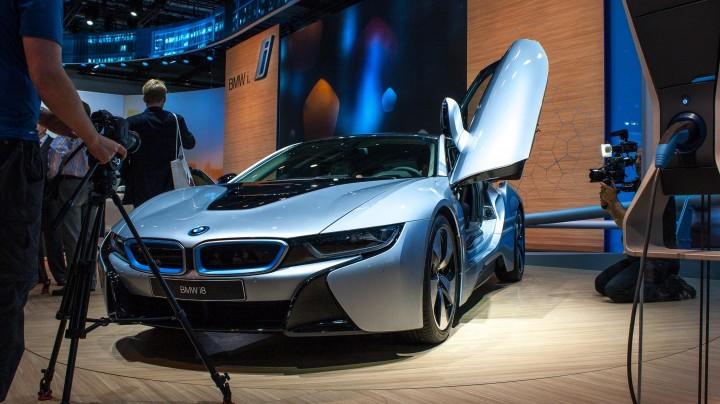 IAA 2013: BMW i8