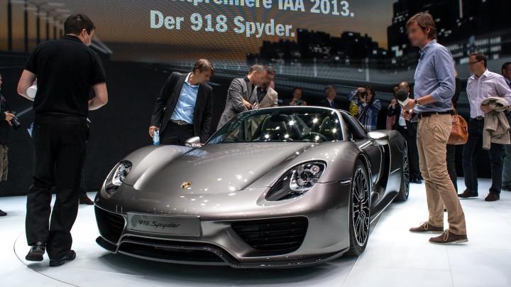 IAA 2013: Porsche 918 - Schönheit!