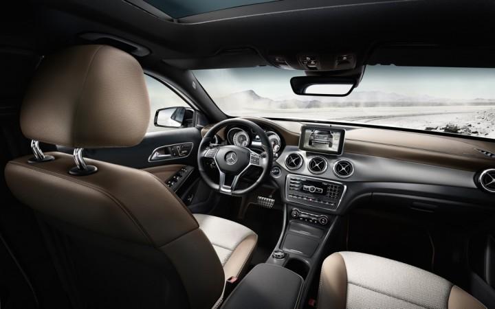 Mercedes-Benz GLA Innenraum / Interieur