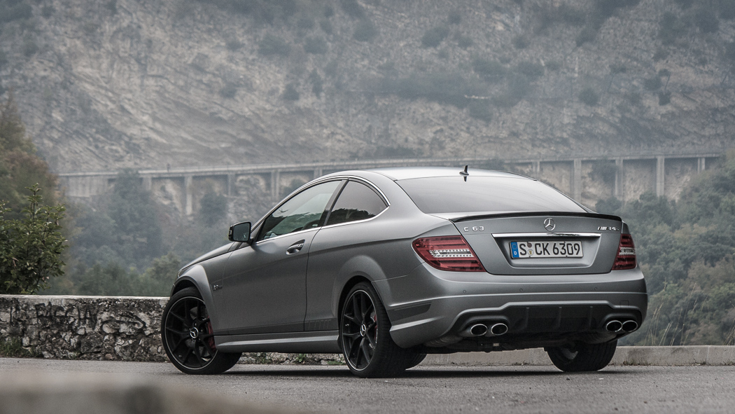 mein schatz: mercedes-benz c63 amg coupé edition 507 | passion:driving