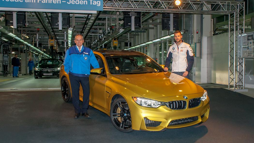 BMW M4 Produktionsstart in München