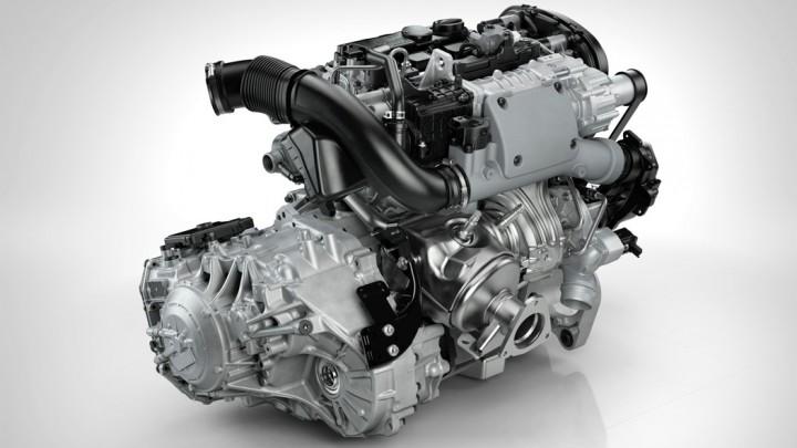 Volvo Drive-E T6-Motor