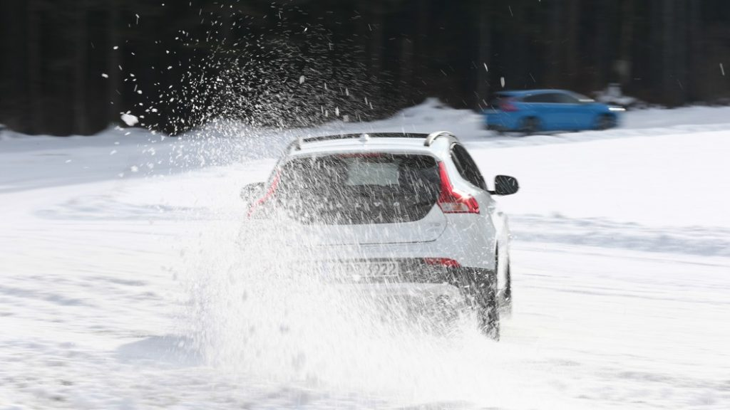 Volvo Wintertestfahrten
