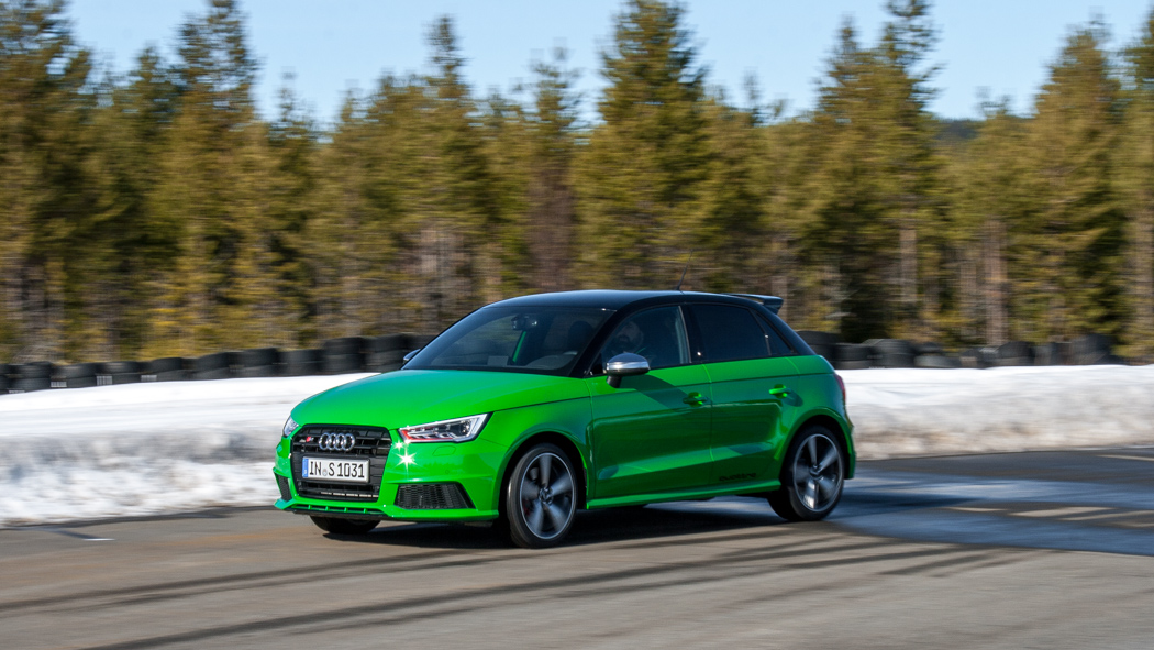 Audi S1 Vipergrün