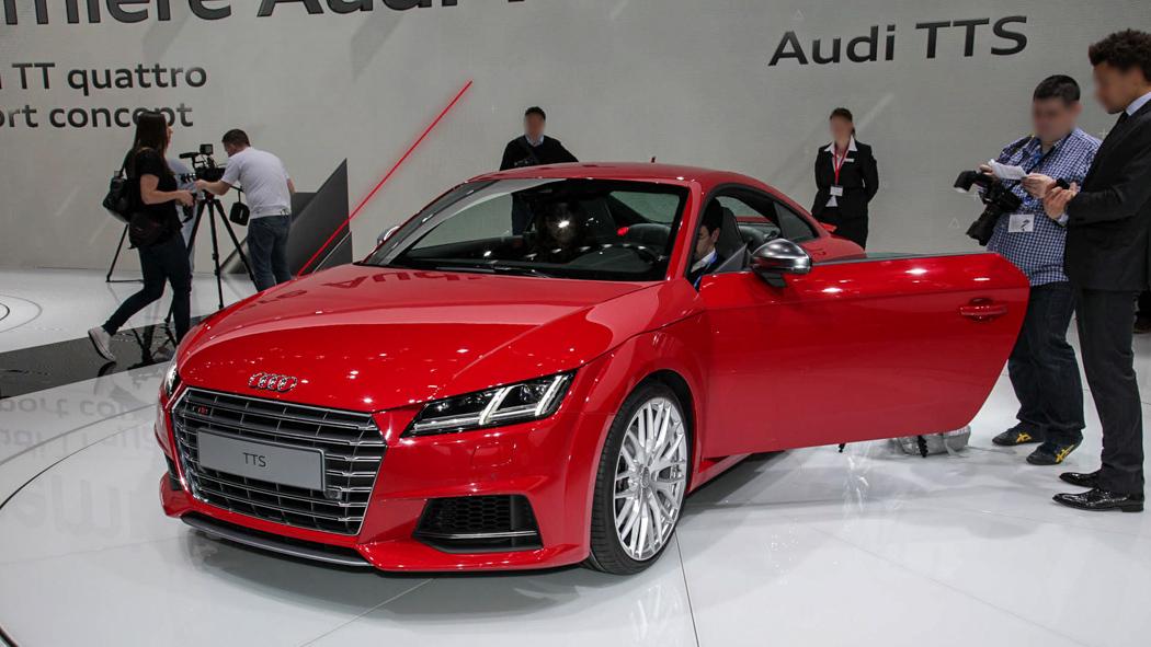 Neuer Audi TT / Audi TTS in Genf 2014