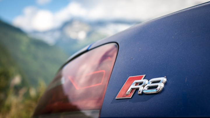 Audi R8 V10 plus - thepluses