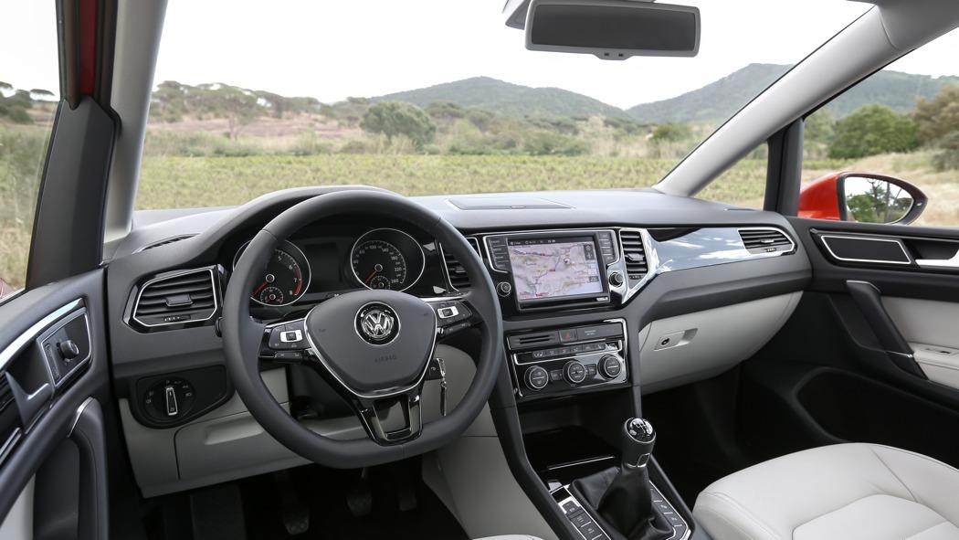 fahrbericht der neue vw golf sportsvan der bessere suv. Black Bedroom Furniture Sets. Home Design Ideas